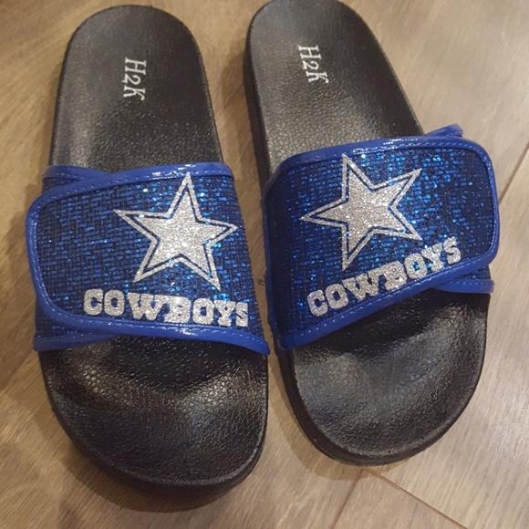 Shoes | Dallas Cowboys Slippers | Poshmark